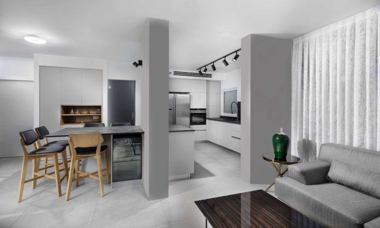 חדר אוכל, סלון ומטבח